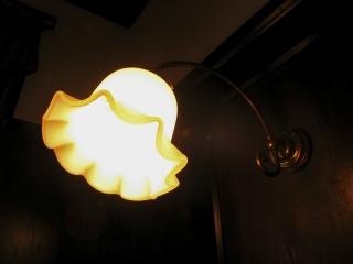 外交官の家のブラケットライト