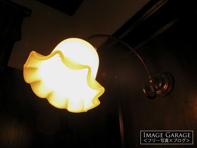 外交官の家のブラケットライトのフリー写真素材(無料)