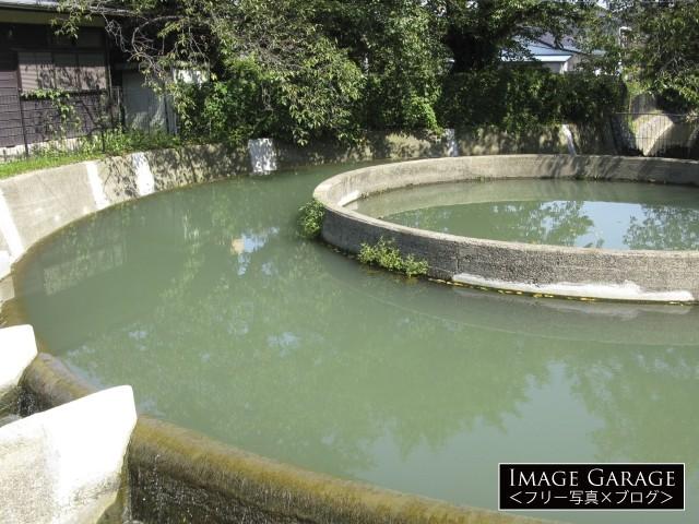 久地円筒分水のフリー画像(無料写真素材)