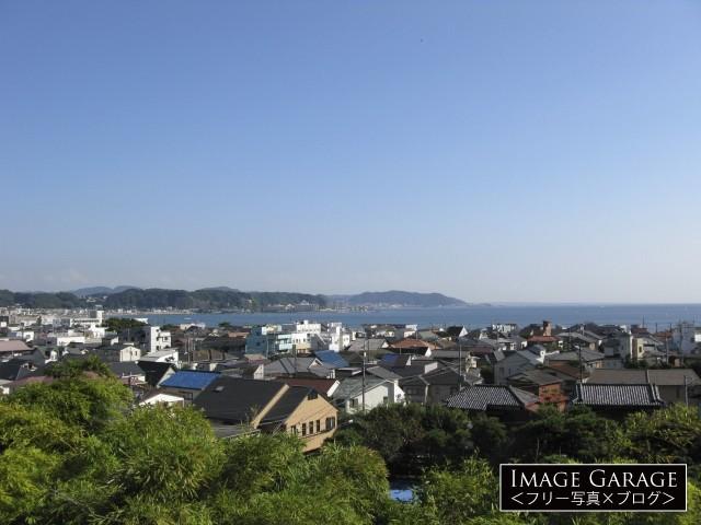 長谷寺・見晴台からの眺めのフリー画像(無料写真素材)