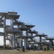 富津岬にある明治百年記念展望塔