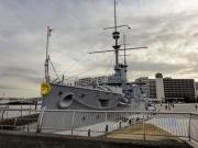 現存する世界最古の鋼鉄戦艦・三笠