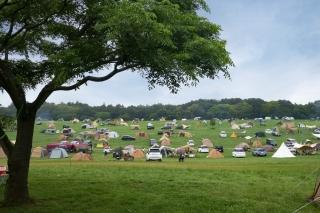 森のまきばオートキャンプ場のキャンパー