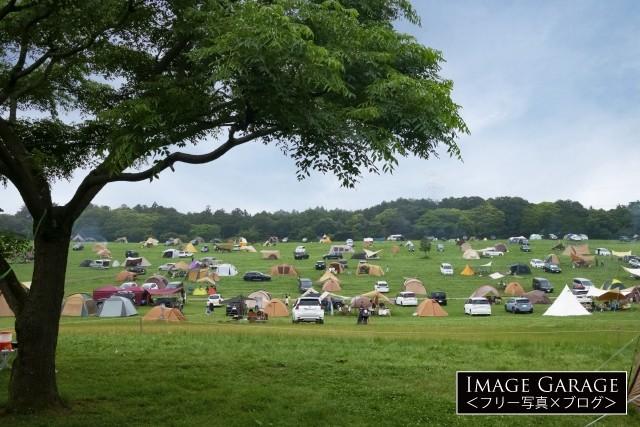 森のまきばオートキャンプ場のフリー画像(無料写真素材)