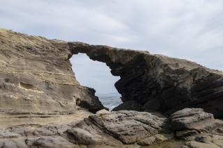 城ヶ島の馬の背洞門