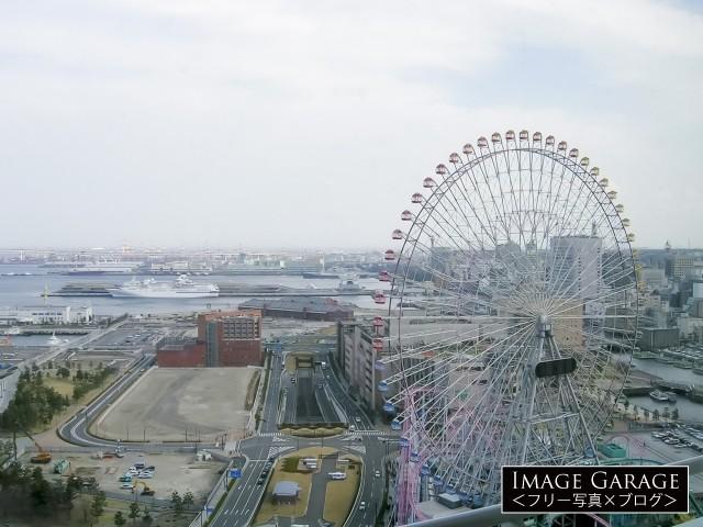 再開発中(2004年当時)の横浜みなとみらい地区