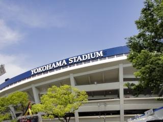 増席する前の横浜スタジアム