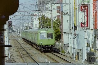 大井町線を走る東急5000系電車(初代)