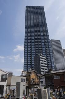 タワーマンション群の麓にある東福寺