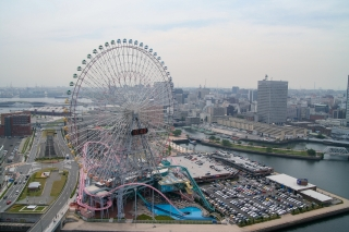 再開発中(2005年当時)の横浜みなとみらい地区