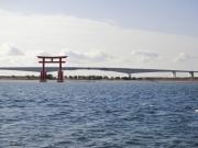 浜名湖・弁天島の赤鳥居