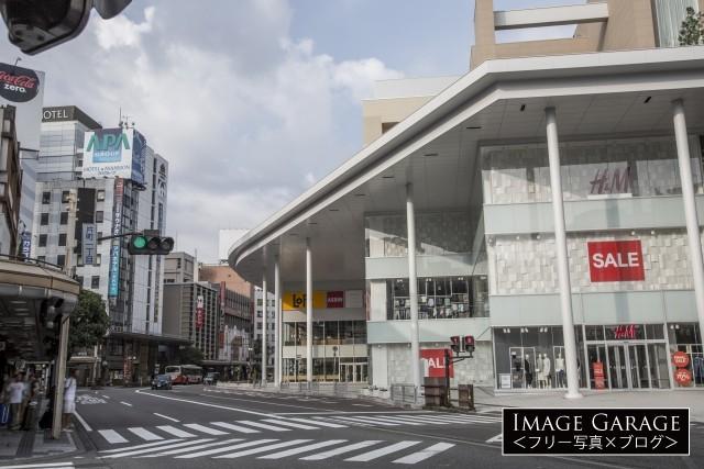 金沢・片町商店街・片町きららのフリー写真素材