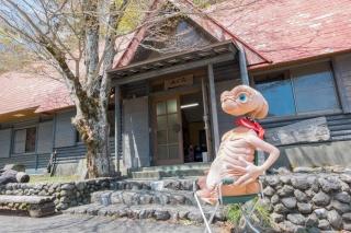 剣山スーパー林道にある休憩所・山の家 奥槍戸