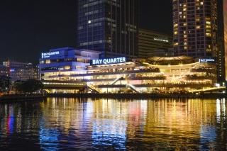 横浜ベイクォーターの夜景