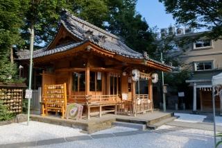 川越・熊野神社の拝殿