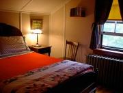 アンティークな雰囲気のロスポートインの客室