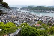 千光寺公園展望台からの眺め(尾道大橋方面)