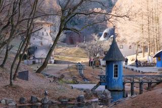 冬のトーベ・ヤンソン・あけぼの子供の森公園