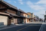 一番街・蔵造りの町並み(荻野銅鉄店付近)