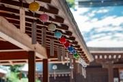 川越氷川神社の社務所の風鈴