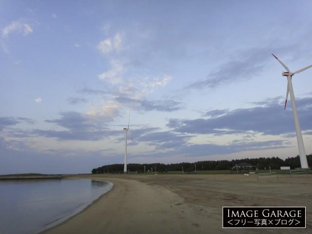 新舞子マリンパーク・ブルーサンビーチのフリー写真素材(無料)
