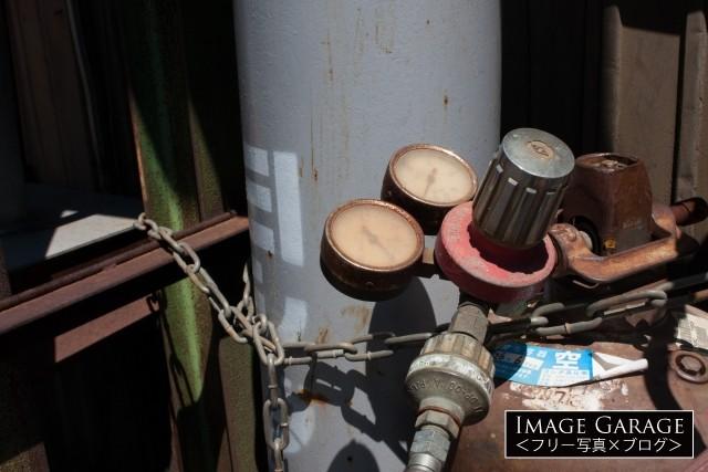 高圧ガス・圧力調整器のフリー画像(無料写真素材)
