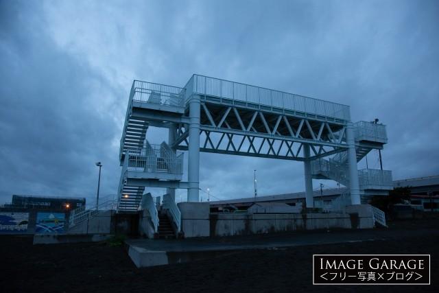 大磯津波施設のフリー画像(無料写真素材)