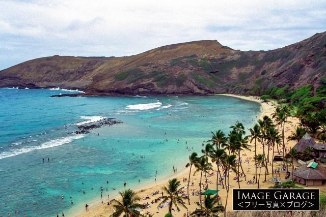 ハワイ・ハナウマベイのフリー写真素材(無料画像)