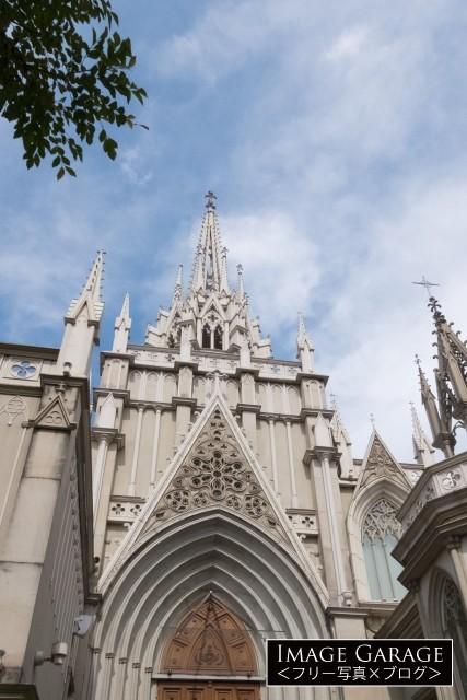 青山セントグレース大聖堂のフリー画像(無料写真素材)