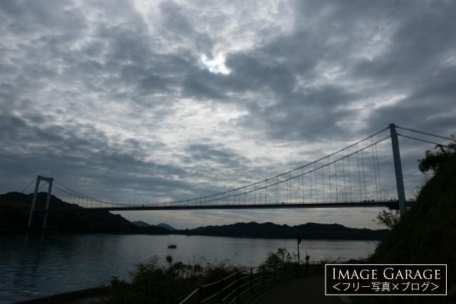しまなみ海道 伯方・大島大橋のフリー写真素材(無料画像)