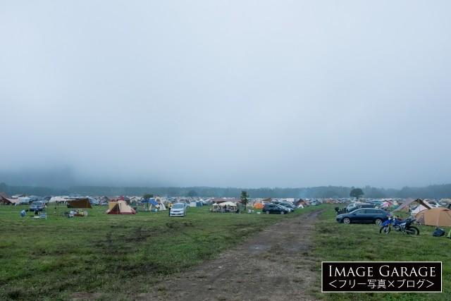 ふもとっぱらキャンプ場のフリー画像(無料写真素材)