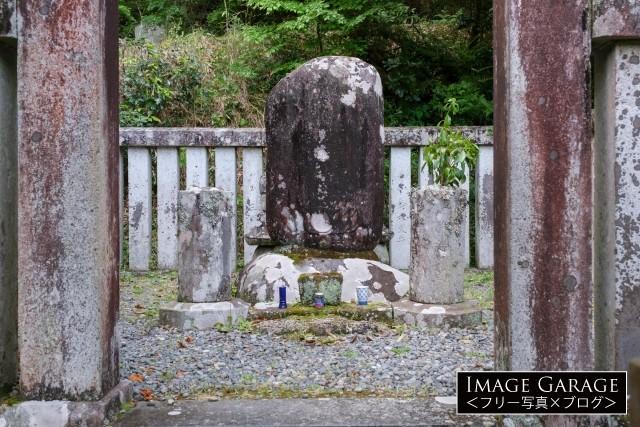 源頼家の墓のフリー画像(無料写真素材)